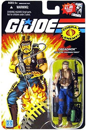 G.I. Joe 25th Anniversary Comic Series Cardback: Dreadnok Torch (Cobra) 3.75 Inch Action Figure -