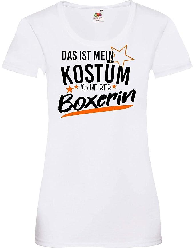 camiseta de chica Verkleidet als Boxeadora Disfraz De Carnaval ...