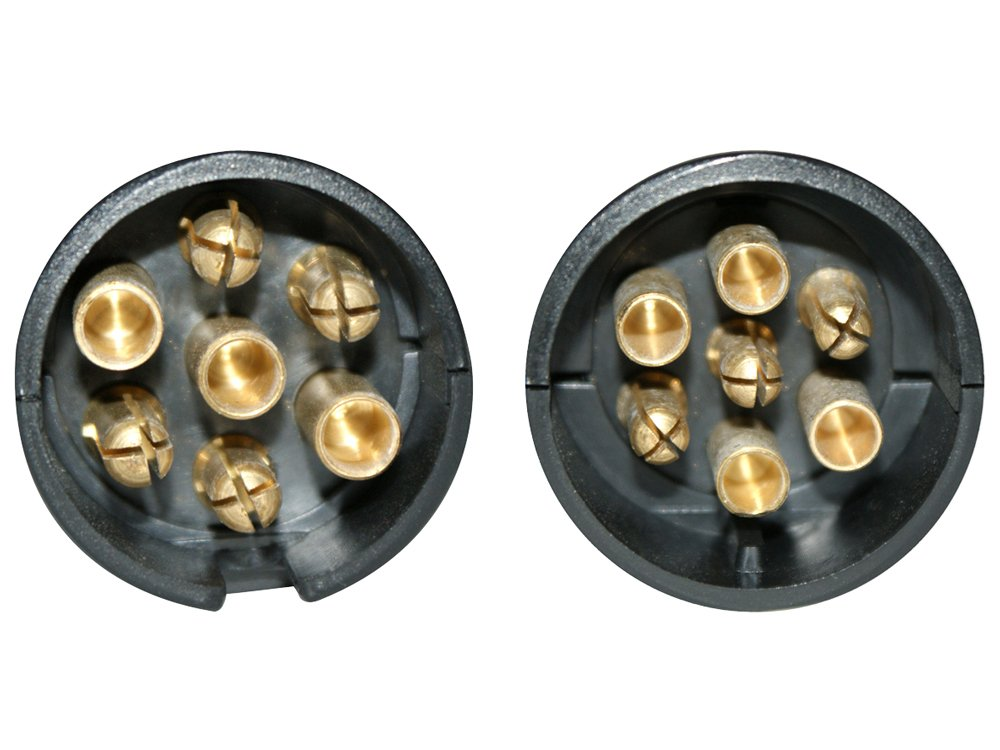 LAS 10181 Trailer Tester 12V Stecker und Steckdose 7-polig