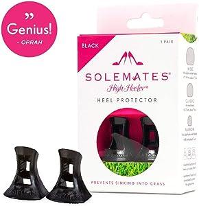 Solemates High Heel Protectors (Black, Narrow)