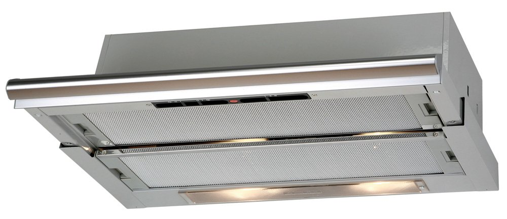 CATA tf5260 Telescopic Hood with 3 Speeds, Stainless Finish, Energy Efficiency Class F