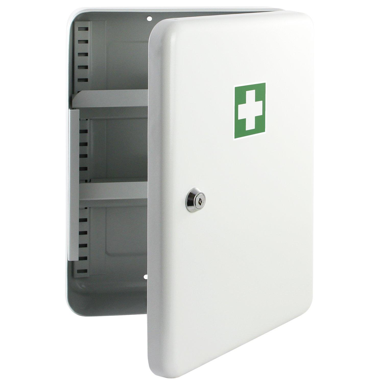 HMF 1073207 Medizinschrank Arzneischrank Hausapotheke 320 mm ...