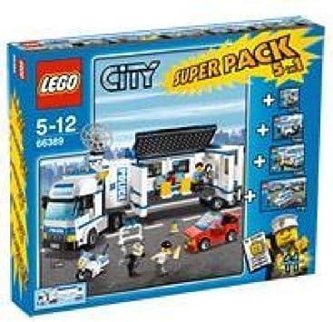 Lego City - Super Pack Police 5 en 1 66389: Amazon.es: Juguetes y ...