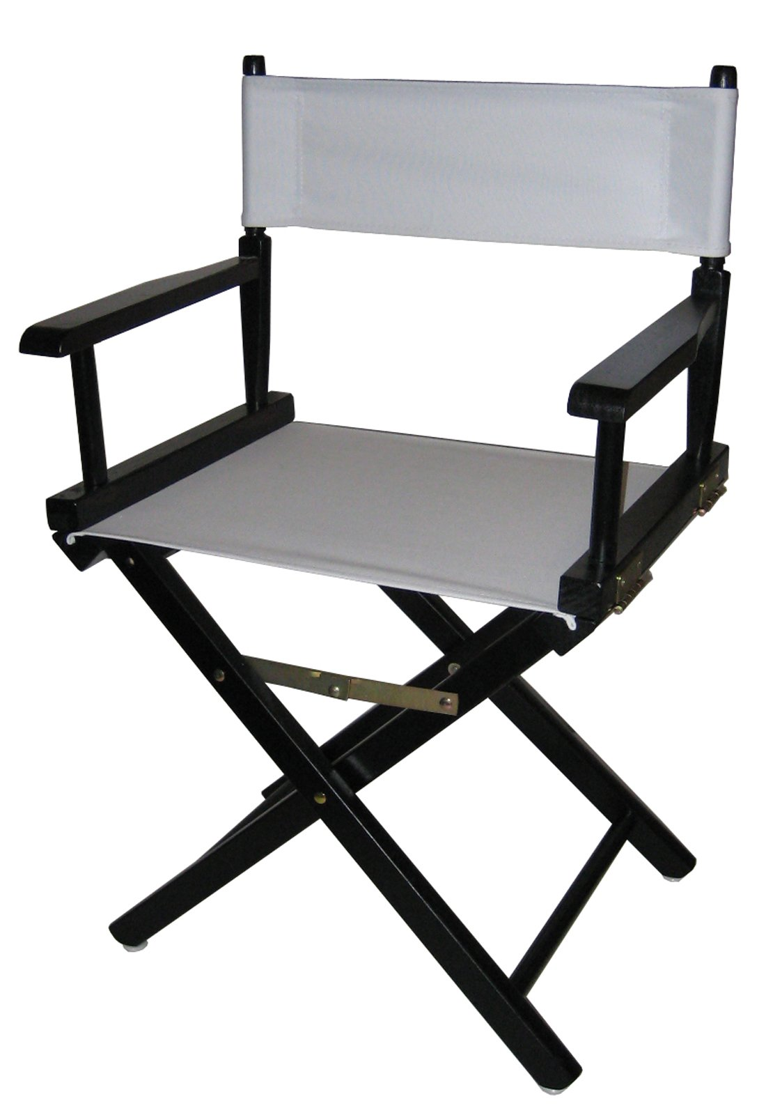Casual Home 18-Inch Director Chair, Black Frame