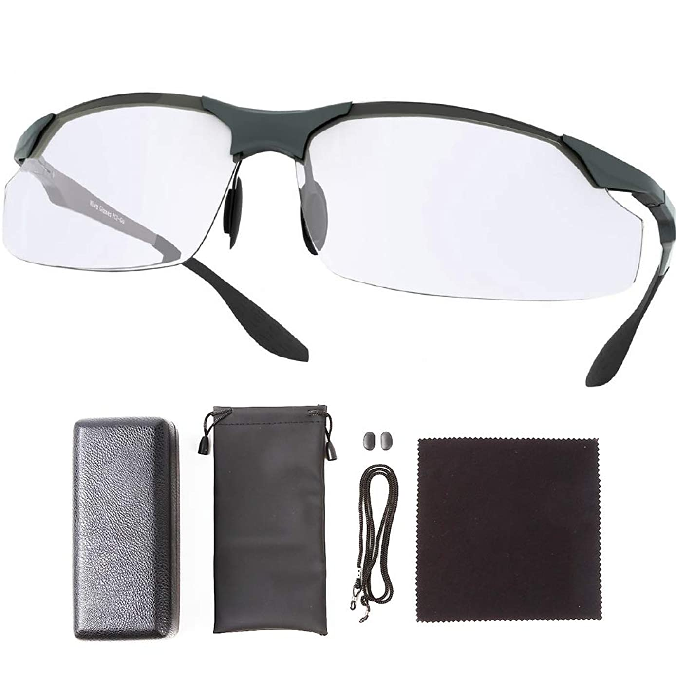 原告雑草複雑でないDuduma ブルーライトカットパソコン用メガネ UVカット 紫外線99%カット (ブラック)