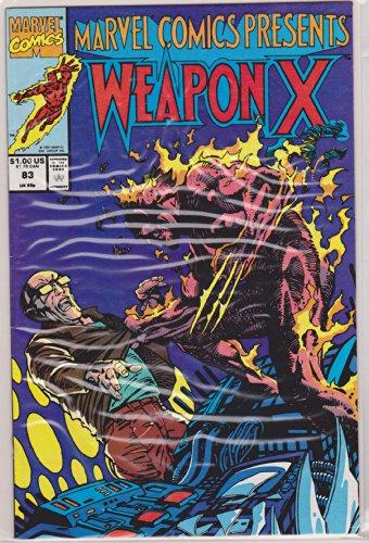 - Marvel Comics Presents #83 : Wolverine as Weapon X, Firestar, Hawkeye, & the Human Torch (Marvel Comics)