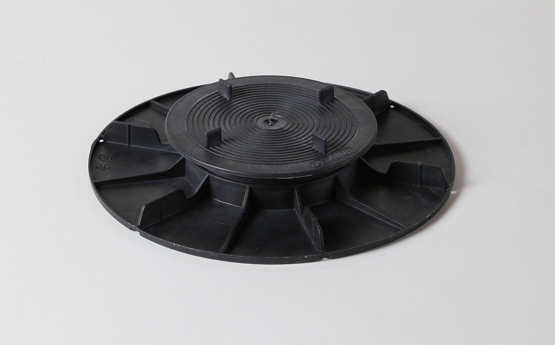 60 Stk Stellfüße für Plattenlager Höhenausgleich 20-30 mm Fundament für Fliesen Platten Keramik Beton Unterkonstruktion Stelzlager