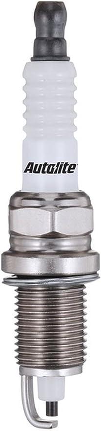 Set (12pcs) Autolite doble PLATINUM Core Resistencia Bujías Junta asiento 14 mm x 1,25 hilo: Amazon.es: Coche y moto