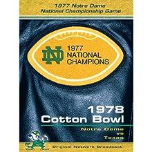 1978 Cotton Bowl: Notre Dame Vs. Texas