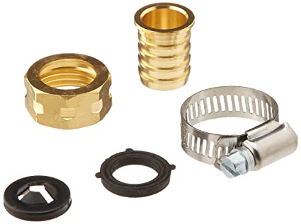 Nelson 50454 3/4-Inch Brass and Worm Gear Clamp Female Hose Repair