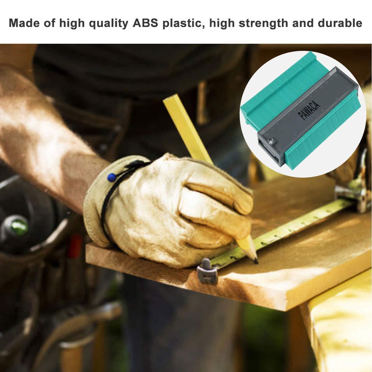 4.7//120MM Konturenlehre Fliesen Laminat Duplikator Holz Markierungswerkzeug Fliesen Laminatfliesen Allgemeine Werkzeuge