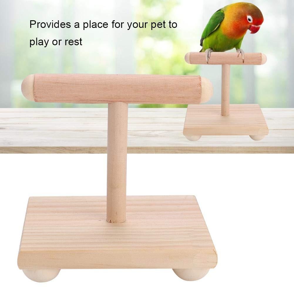 Legendog Bird Perch Natural U Shaped Wood Perch Bird Stand Bird Cage Perch Pet Chew Toy