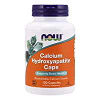 NOW Supplements, Calcium Hydroxyapatite Caps, Supports Bone Health*, 120 Capsules
