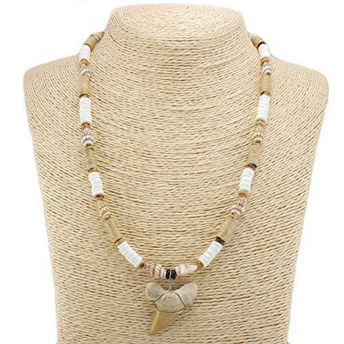 Shark-Tooth-Pendant-on-Puka-and-Nassa-Shells-Necklace-with-Hemp-Wrapped-Tube-Beads-3S-Shark-Tooth