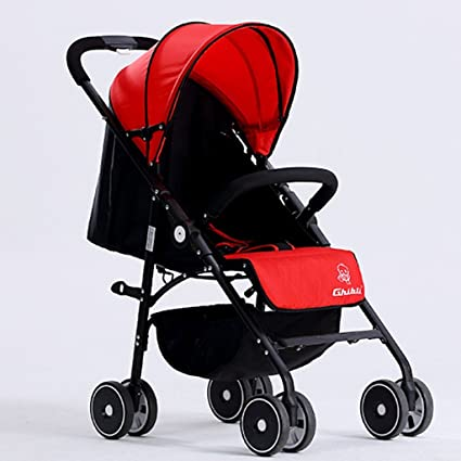 JM Carro de bebé Cochecito de bebé Ligero Cochecito Plegable Asiento ...