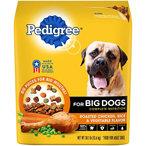 pedigree-for-big-dogs-adult-complete-nutrition-roasted-chicken-rice-vegetable-dry-dog-food-301-pound
