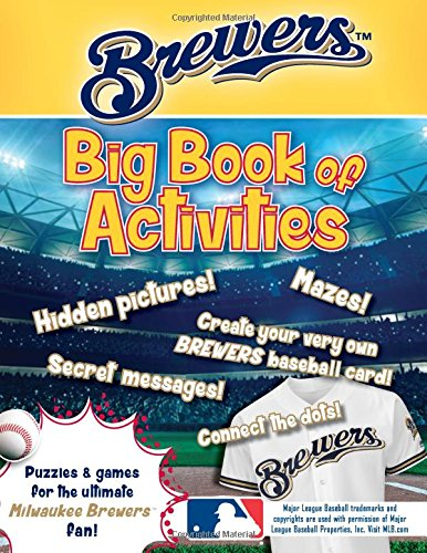 Milwaukee Brewers: The Big Book of Activities (Hawk's Nest Activity Books) -