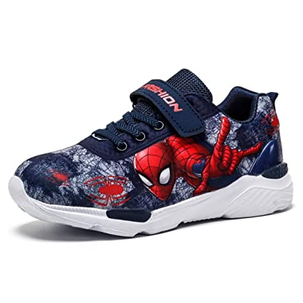 Amazon.com: Bebe Shoes Cartoon Shoe Princess Spiderman Shoes ...
