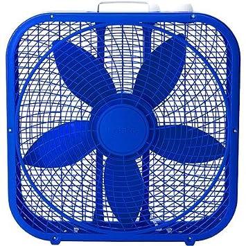 amazon co jp be cool with lasko cool colors 20 box fan royal blue
