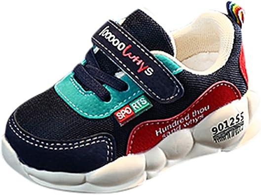 Zapatillas para Niños Niñas Deportivas Verano Otoño 2019 PAOLIAN Calzado de Deportes Niños Unisex Running Casual Zapatos Bebes Primeros Pasos Bautizo Antideslizante 22-29 EU: Amazon.es: Zapatos y complementos