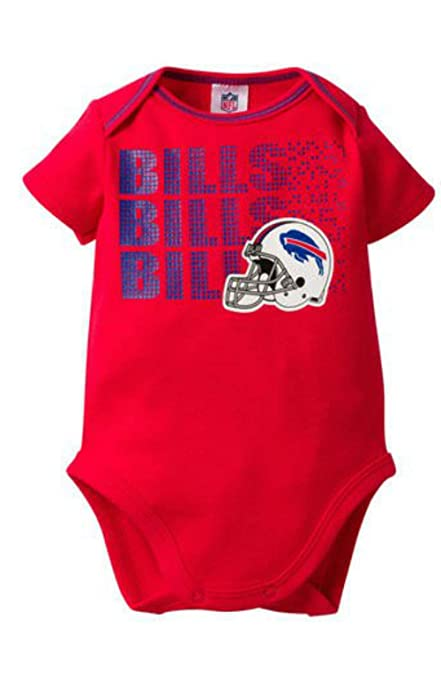 18cf1856 Amazon.com : NFL Team Apparel Buffalo Bills Infant Onesie Size 6-12 ...
