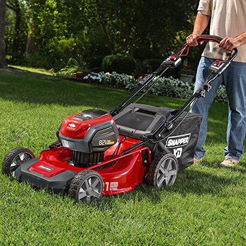 Snapper XD SXD21SPWM82K 82V Electric Cordless 21-inch Self-Propelled Lawnmower Kit with (2) 2.0 Battery & (1) Rapid Charger