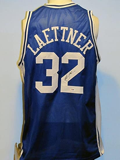 d6cb85193a3d Christian Laettner Autographed Jersey - Custom - PSA DNA Certified - Autographed  College Jerseys