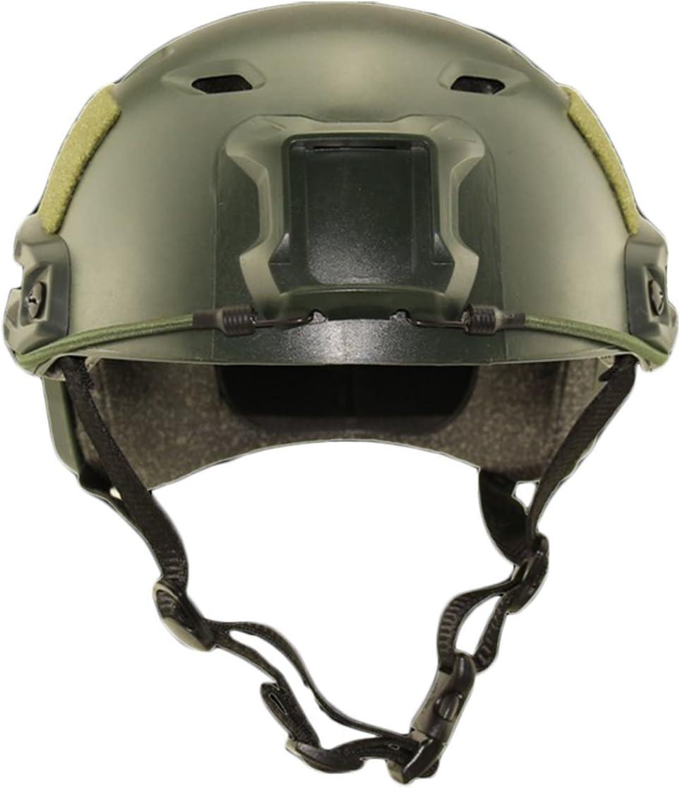 ATAIRSOFT Casco SWAT Casco r/ápido Tipo BJ para Airsoft Tactical Army Military Shooting Paintball CS