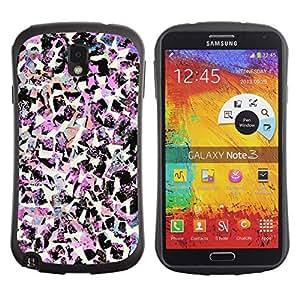 "Pulsar iFace Series Tpu silicona Carcasa Funda Case para Samsung Note 3 , Pájaros Arte rosa de la moda decorativa"""