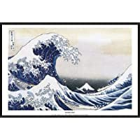 Empire Poster de Katsushika Hokusai La grande vague de Kanagawa + accessoires