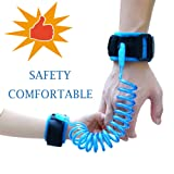 Amazon Price History for:JINSEY Safety Child Anti Lost Wrist Link Harness Strap Rope Leash Walking Hand Belt (2.5m Blue)