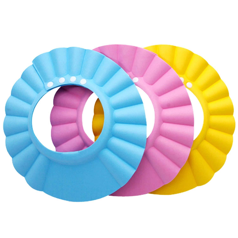 Amazon Com 6 Pcs Baby Shower Cap Kids Bath Hat Shampoo