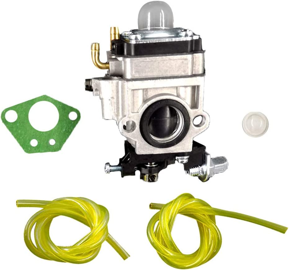 ALL-CARB Carburetor Fits for Gas 2 Cycle 43cc Powermate PCV43 Tiller with Gaskets