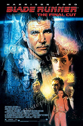 Posters USA - Blade Runner Movie Poster GLOSSY FINISH - MOV045 (24