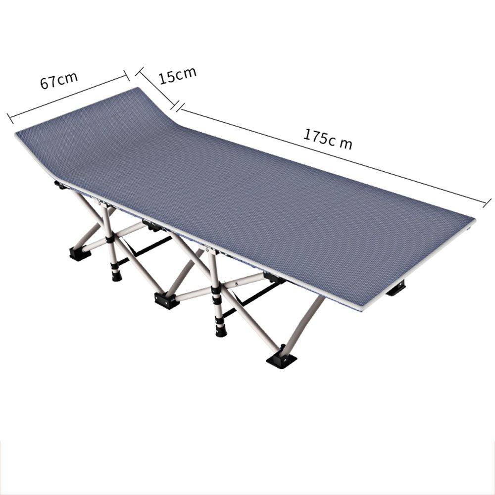 Home & Style XXL Campingbett Feldbett 190 cm- Belastbarkeit bis 450 kg