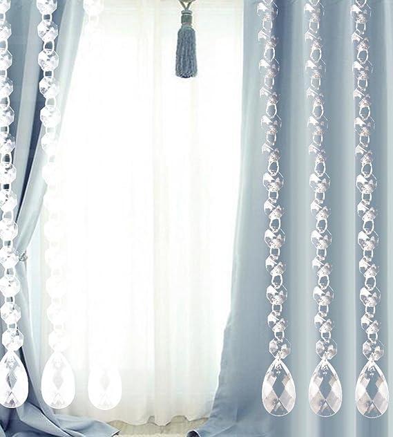 Turquie De Luxe Perle En Verre Pour Porte Cordes Tassel Rideau De
