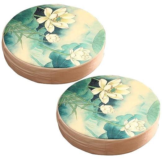 Tatami Futon Lotus Pouf Cojín Japonés Cojín De Buda Cojín De ...