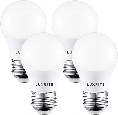 Luxrite A15 Led Light Bulb 40w Equivalent 2700k Soft White Dimmable 450lm Medium Base E26 Led Light Bulb Enclosed Fixture Rated Ul Listed