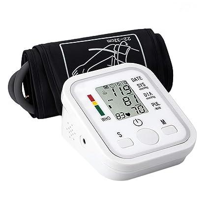 aidmonr Home portátil brazo Tipo Tensiómetro, inteligente automática voz electrónica Tensiómetro para monitoreo de la