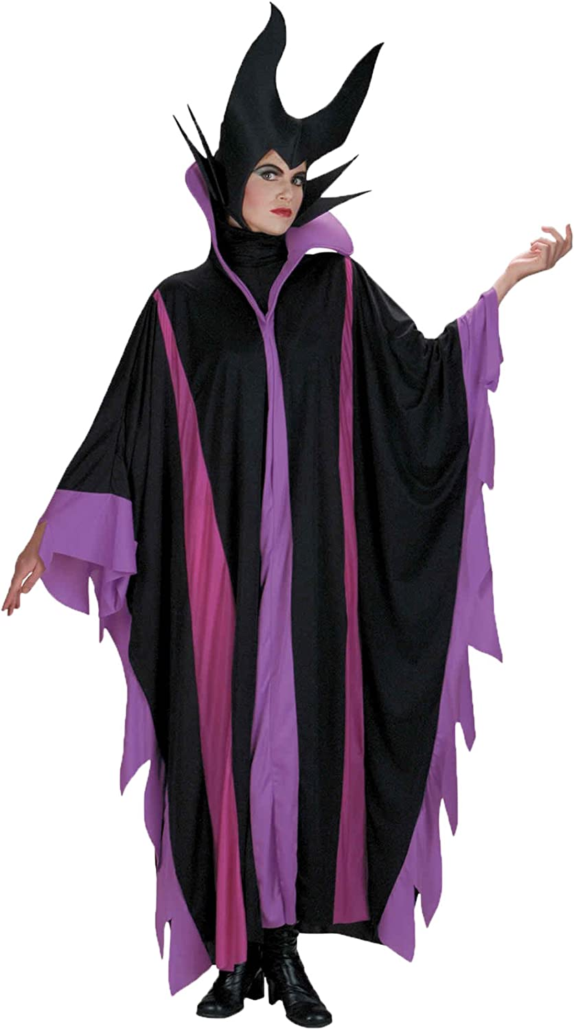 Maleficent Deluxe Evil Queen Cosplay Costume Halloween Outfit Fancy Dress Adult