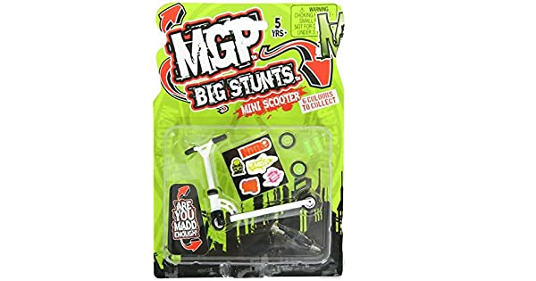 Amazon.com: MADD Gear MGP Big Stunts – – Patinete de dedos ...