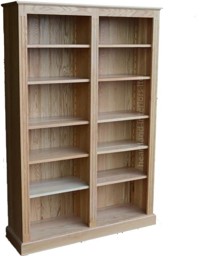 Heartland Oak 100% Roble Macizo librería, Hecho a Mano 6 ft x ...