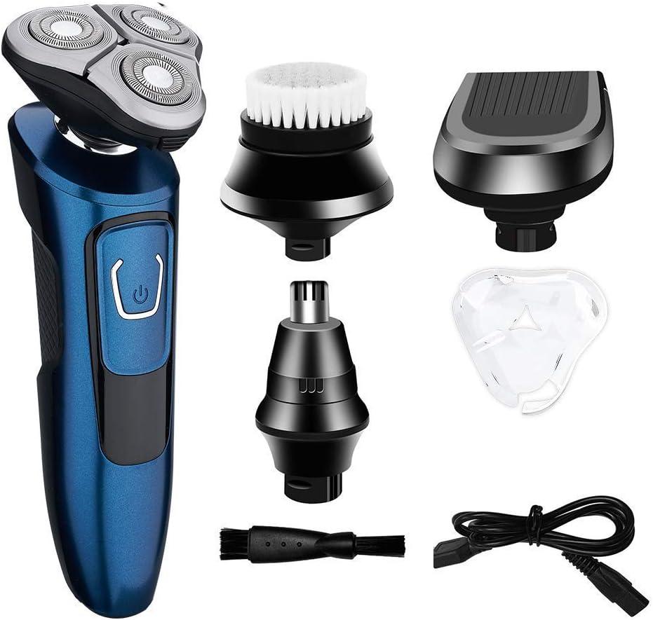 Máquina de afeitar recargable USB para hombre 4 en 1 Máquina de ...