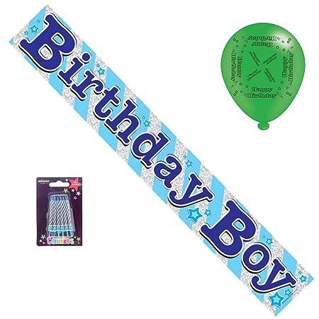 Cards Galore Online Paquete de Fiesta de cumpleaños Azul ...