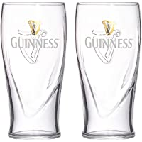 Guinness Beer Glasses transparent