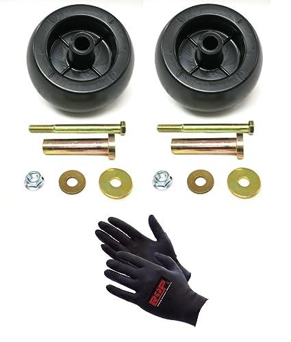 Deck Wheel Kit Exmark Viking Lazer Z Toro Groundsmaster Zero Turn Mower 12