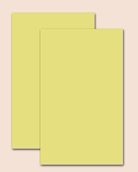 amazon com premium canary yellow 67 lb cover cardstock vellum