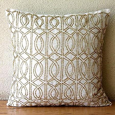 Pillow Cover \u2022 Throw Pillow \u2022 Tassel Pillow \u2022 Cushion Cover \u2022 Decorative Pillow \u2022 18x18 Inches \u2022 12X20 Inches