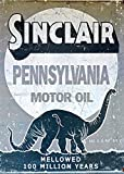 Home Comforts LAMINATED POSTER Sign Motor Oil Oil Sinclair Petroleum Old Gas Poster 24x16 Adhesive Decal