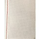 Needlepoint Blank Canvas 10/12/13/14/16/18 Mesh- ZWEIGART Mono Deluxe Orange Line - Priced Per 1 Yard - Low Price Guarantee (18)